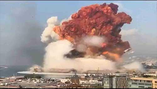 بیروت انفجار